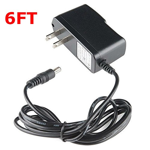 6FT Extra Long Android TV Box AC Power Adapter DC 5V 2A/2000mah 5.5mm Tip Wall Charger Adaptor Cable Cord Plug for Matricom G-Box Q MXIII MXQ M8 Mini M8S II M8S+ T95X T95N T95M T95Z T95 H96 Pro Plus