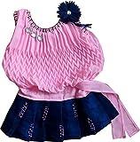 SNS Girls' Dress (Ba200146_Pink_3-6 Months)