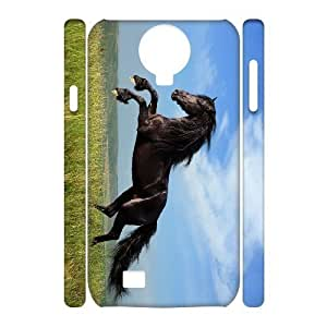 ALICASE Diy Case Horse Cover For Samsung Galaxy S4 i9500 [Pattern-1] wangjiang maoyi