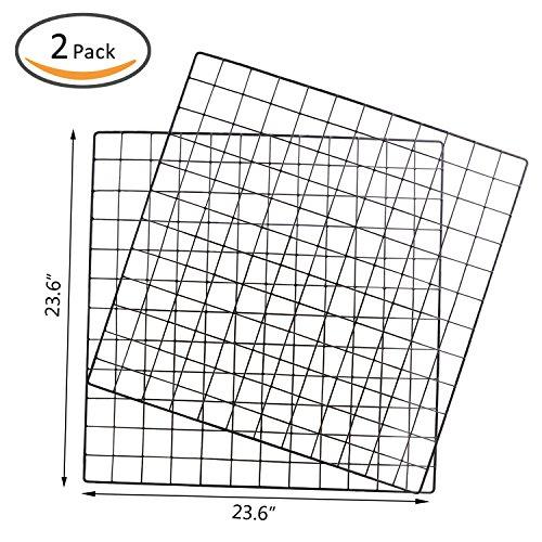 kleanner metal wire mesh grid panel mesh memo board wall