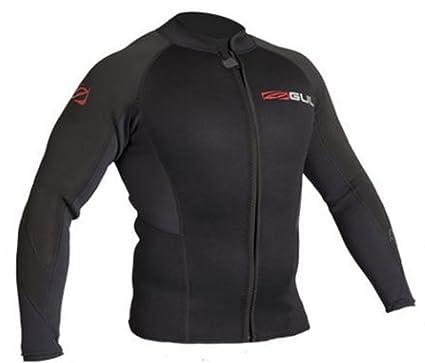 Gul 2018 Response 3mm Flatlock Bolero Wetsuit Jacket Black ...