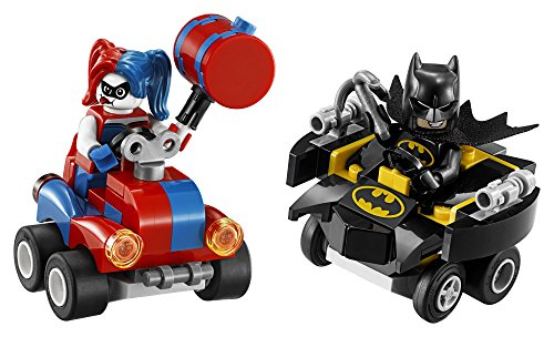 Lego Superheroes Mighty Micros  Batman Vs  Harley Quinn 76092 Building Kit  86 Piece