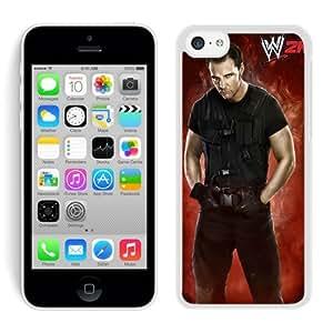 iPhone 5C Case,wwe 2k14 dean ambrose White For iPhone 5C Case WANGJING JINDA