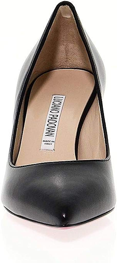 LUCIANO PADOVAN Luxury Fashion Womens LPAD180 Black Pumps Season Outlet