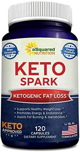 Keto Spark Supplement Capsules Ketogenic product image