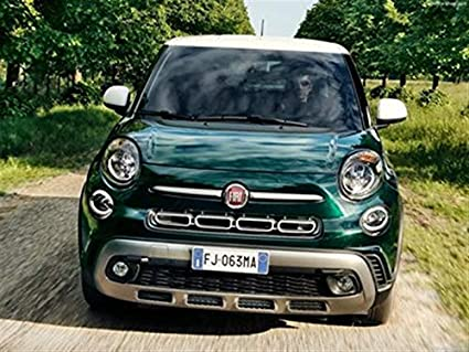 Amazon Com Fiat 500l Cross 2018 Poster 18 X 24 Fiat 500l Cross
