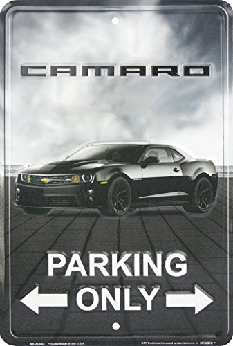 Chevrolet Camaro Parking Only Metal Parking Sign (Poster Camaro)