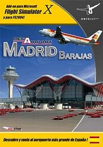 Extension de Flight Simulator Mega Aeropuerto Madrid FSX y 2004 PC Version Española