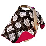 Mother's Lounge Carseat Canopy, Lovely
