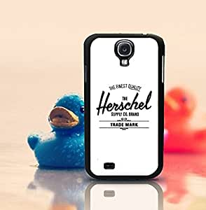 Unique Herschel Supply Co Phone Funda Case Cover For Galaxy S4 - Samsung Galaxy S4 i9500 Funda Case Durable Slim Anti Dust Stylish Retro Classic Special Design