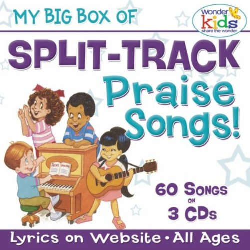 Track Kids Split - My Big Box Of Split Track Praise Songs For Kids