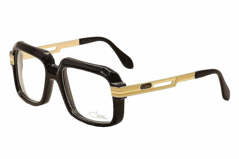 a923390efe3 Amazon.com  Cazal Eyeglasses 607 2 001 Black Gold Full Rim Optical Frames  56mm  Shoes