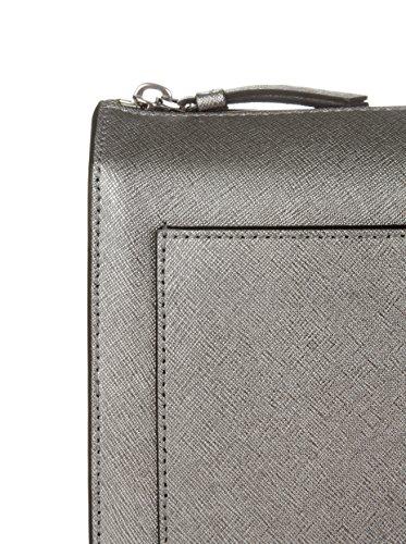 DKNY, Borsa a tracolla donna grigio grigio chiaro
