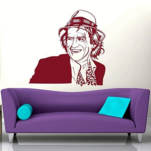 【上品】 dreamkraft 23インチ用 x Keith Richards壁装飾アートステッカービニールデカールホームデコレーションリビングルーム&キッズ寝室(23 x 23インチ用 B07CGRT1YH B07CGRT1YH, 包丁爪切りのかまや金物店:5e3b905b --- svecha37.ru