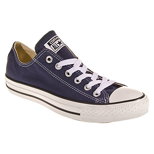 Converse Unisex Chuck Taylor All Star Low Ox Navy Sneaker – 5 B(M) US / 3 D(M) US