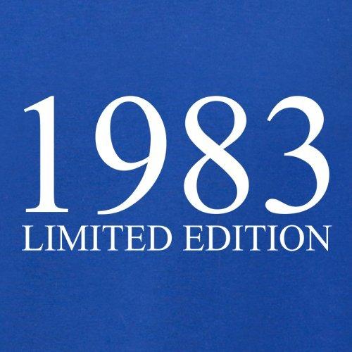 1983 Limierte Auflage / Limited Edition - 34. Geburtstag - Herren T-Shirt - Royalblau - S