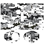 Skin-2-win Grey Camo Protective Vinyl Skin Wrap Sticker Decal for Wismec Reuleaux Rx200 Rx Tc MOD 200w 200 Watt Vape
