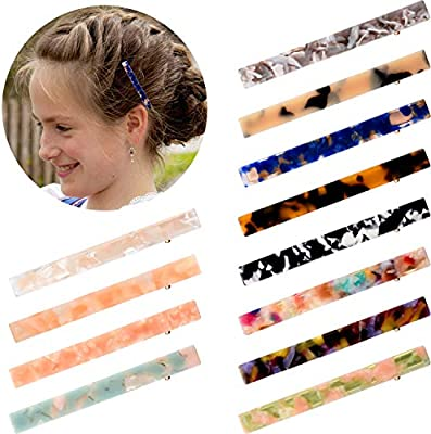 Magnificent 12 Pieces Acetic Acid Hairpin Oblong Hair Clips Alligator Duckbill Schematic Wiring Diagrams Phreekkolirunnerswayorg