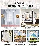 Warm Home Designs Extra Long Navy Blue Sheer Window