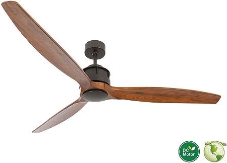CASA BRUNO Akmani DC-ventilador de techo Ø 152 cm, bronce antiguo ...