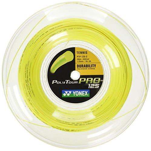 Yonex Poly Tour Pro (16L-1.25) String Reel (Yellow)