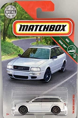 Matchbox 2019 MBX Road Trip '94 Audi Avant RS2 20/125, White