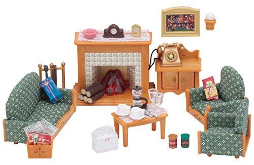 Sylvanian Families 5037 Deluxe Living Room Set, Multicolor (Uk Sets Living Room Furniture)