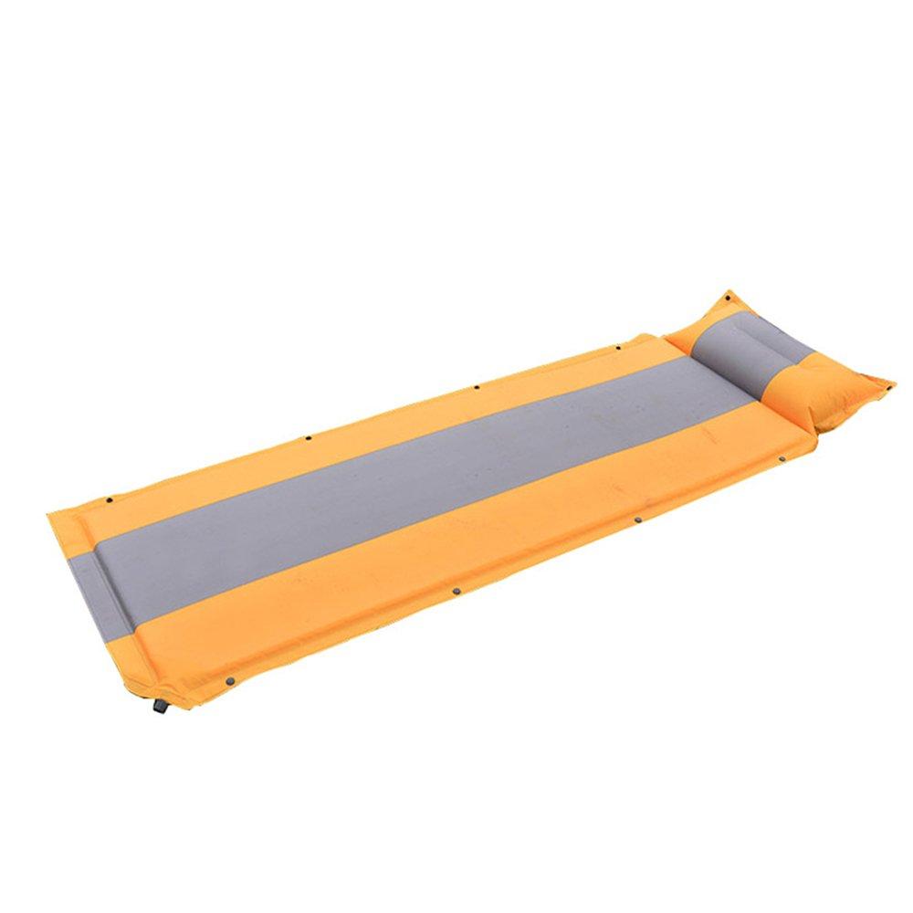 OUTDOT Wasserdichtes Automatisches Aufblasbares Bett, Selbstaufblasende FeuchtigkeitsBesteändige Isomatte-Zelt-Luft-Matten-Matratze mit Kissen Für Camping Im Freien 192  61  2.5Cm