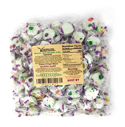 Brachs Jelly Bean Nougats - 2 Lbs