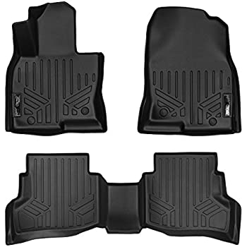 1 Pack for Mazda CX-9 2017 Behind Third Row MAXLINER E0257 Black All Weather Cargo Liner