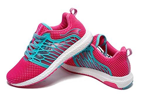 Running de Material Unisex Sintético Adultos Zapatillas Competición Rosy de de ONEMIX Blue qxwHXSE4