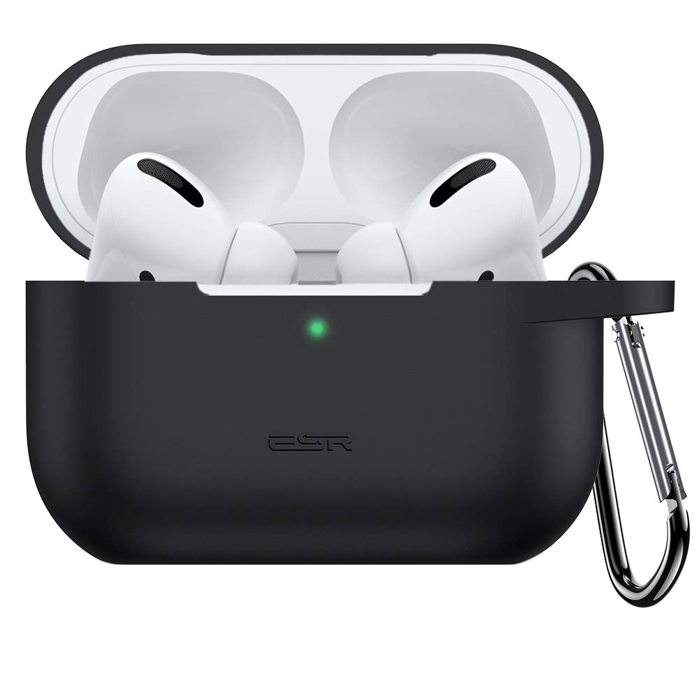 ESR Protective Case for Airpods Pro Case, Bounce Carrying Case with Keychain for AirPods Pro 2019