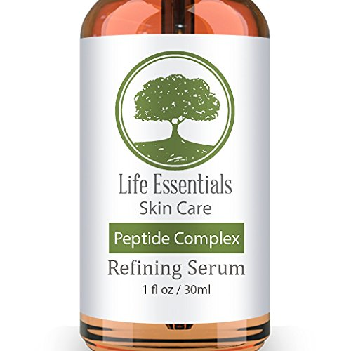 Peptide Complex Serum For Face - Boost Collagen To Heal & Repair Skin - Anti Aging, Refines Wrinkles, Evens Skin Tone, Restores Elasticity & Firmness - Hyaluronic Acid, Aloe Vera, Jojoba Oil Vitamin (Firmness Face)