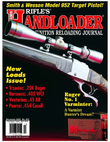 Handloader Magazine - December 2004 - Issue Number 232 - Norma Ammunition