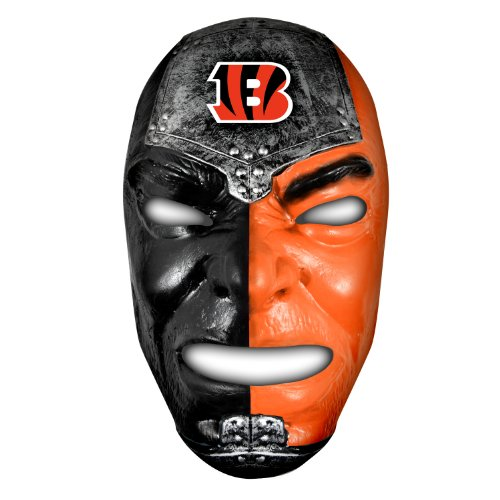 Franklin Sports NFL Cincinnati Bengals Team Fan Face Mask