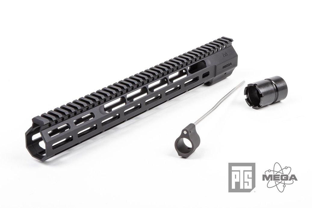 PTS® Mega Arms Wedge Lock ハンドガード 14インチ B01F6S49HA