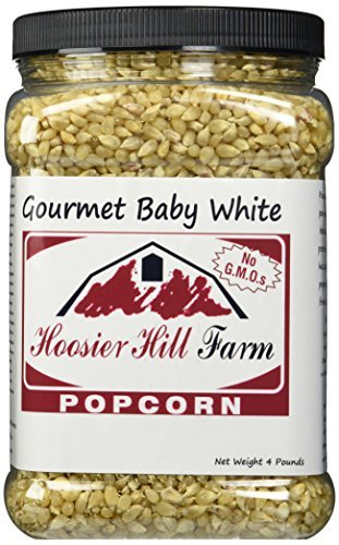 Hoosier Hill Farm Baby White, Popcorn Lovers 4 lb. Jar. ()