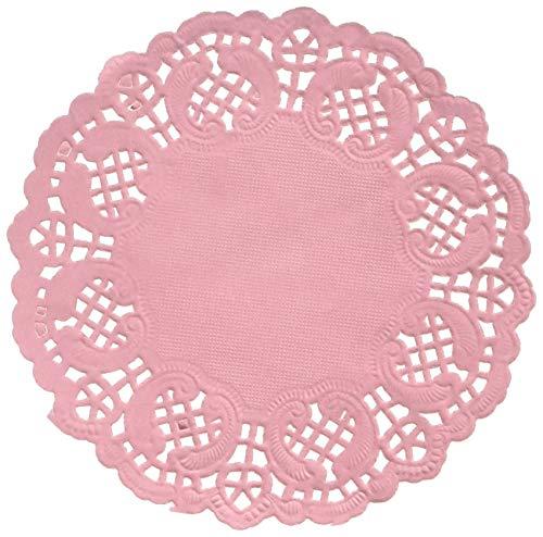 Darice Pink Paper Doilies, 50 Piece]()