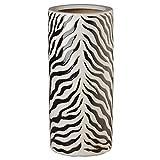 Emissary Home & Garden Umbrella Stand Zebra 19'' H