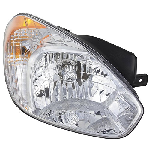 CarPartsDepot Head Light Lamp RH HY2503144 Fit 08-10 Hyundai Accent 4 Door 06-10/Hatchback