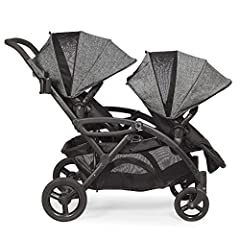 Contours Options Elite Tandem Stroller boasts a lightweight, full-featured inline design that makes traveling with two kids easier, more comfortable and convenient Accommodates up to two infant car seats (not included) to create a complete tr...