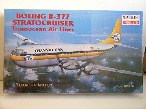 Minicraft Models---1/144 Scale Boeing B-377 Strato-Cruiser--Plastic Model Kit