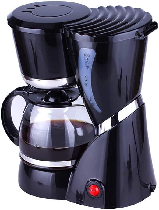 Máquina de café, 550W cafetera de filtro con filtro reutilizable y ...