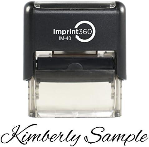 IMPRINT360 Custom Signature Stamp PERSONALIZED