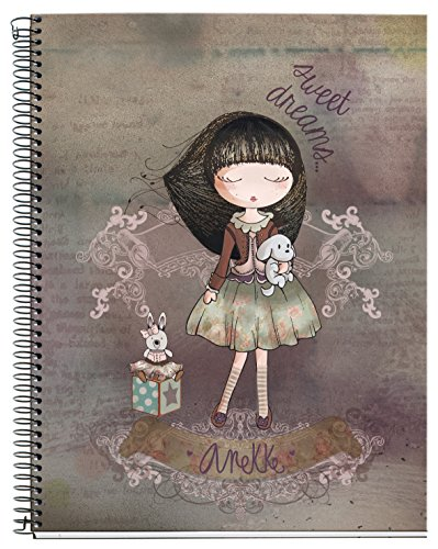 anekke Cozy – Notebook, 120 Sheets, A4, 210 x 297 mm by Anekke