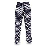 : Zubaz Men's NFL Team Logo Print Comfy Jersey Pants
