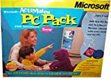 Vintage Microsoft Actimates-PC-Pack-Interactive-Software - BARNEY-FRIENDS-1997