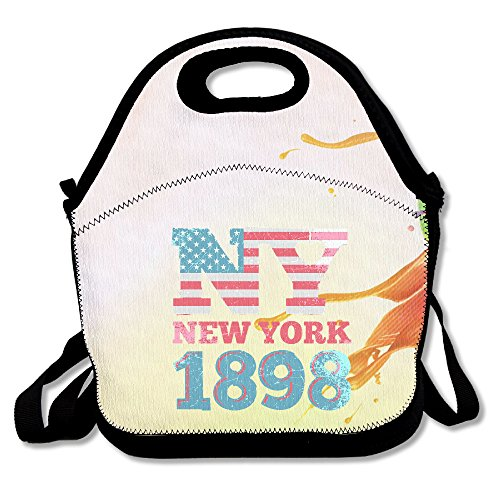 MAGGIE SALAS New York 1898 Customized Lunch Bag Travelling Picnic Storage Bags Backpack - New York Plaza Kings