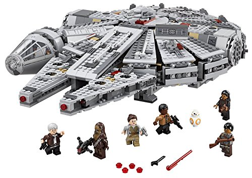 LEGO Star Wars Millennium Falcon Playsets Building Toys 1329 Pcs (Original Batman Suit)