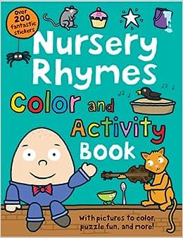 Nursery Rhymes Color And Activity Book por Roger Priddy epub
